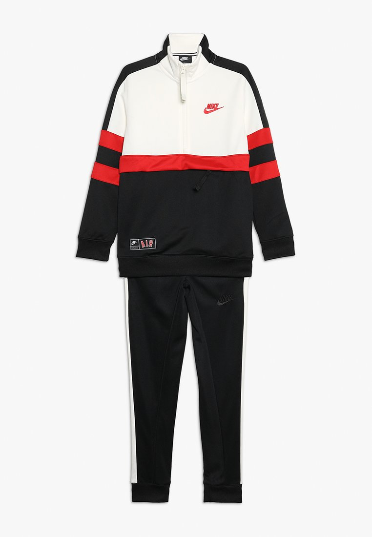 Nike Performance - AIR TRACK SUIT CUFF - Survêtement - black/sail/university red