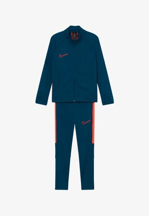 DRY ACADEMY SET - Trainingspak - valerian blue/laser crimson