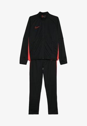 DRY  SET - Trainingsanzug - black/ember glow