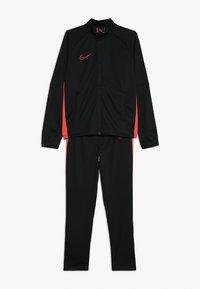 Nike Performance - DRY ACADEMY SET - Tepláková souprava - black/ember glow - 0