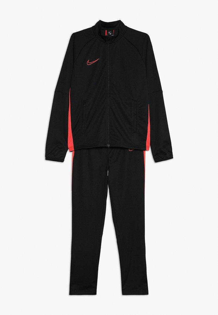 Nike Performance - DRY ACADEMY SET - Tepláková souprava - black/ember glow