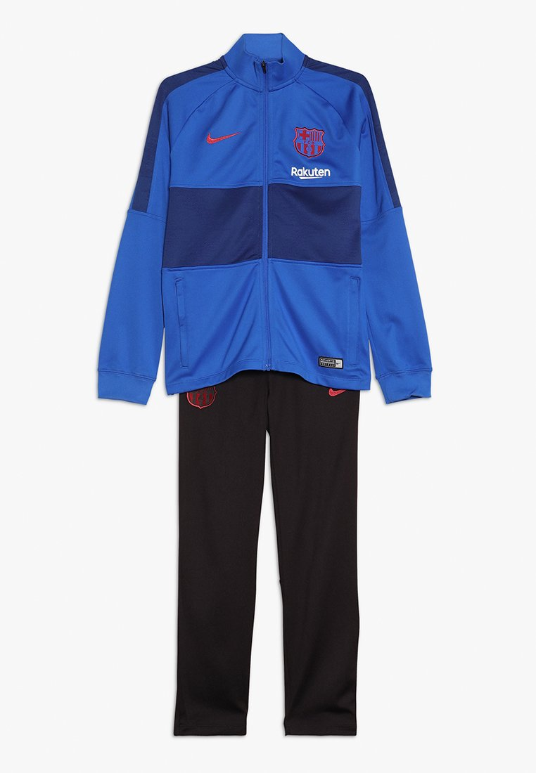 Nike Performance - FC BARCELONA DRY SUIT - Trainingsanzug - lyon blue/deep royal blue/noble red