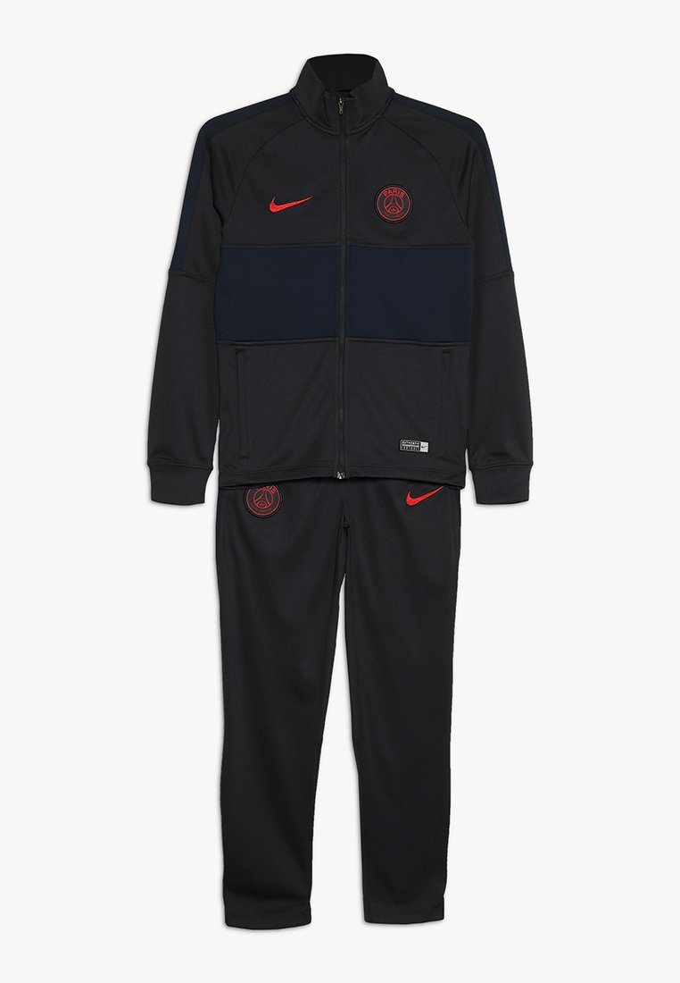 Nike Performance - PARIS ST. GERMAIN DRY SET - Trainingspak - oil grey/gobsidian/university red