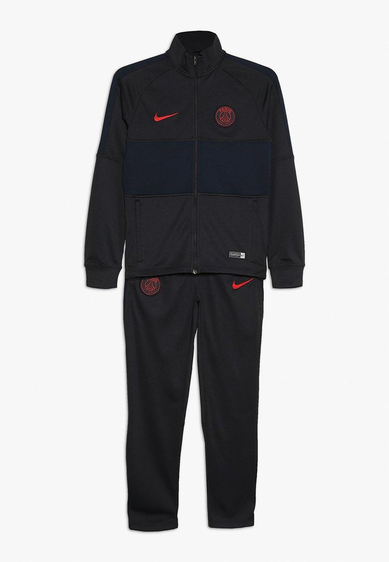 Nike Performance - PARIS ST. GERMAIN DRY SET - Trainingsanzug - oil grey/gobsidian/university red