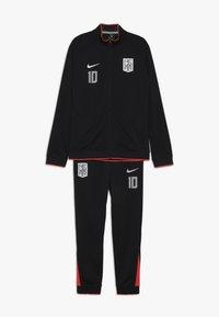 Nike Performance - NEYMAR DRY SUIT SET - Tracksuit - black/laser crimson/white - 0