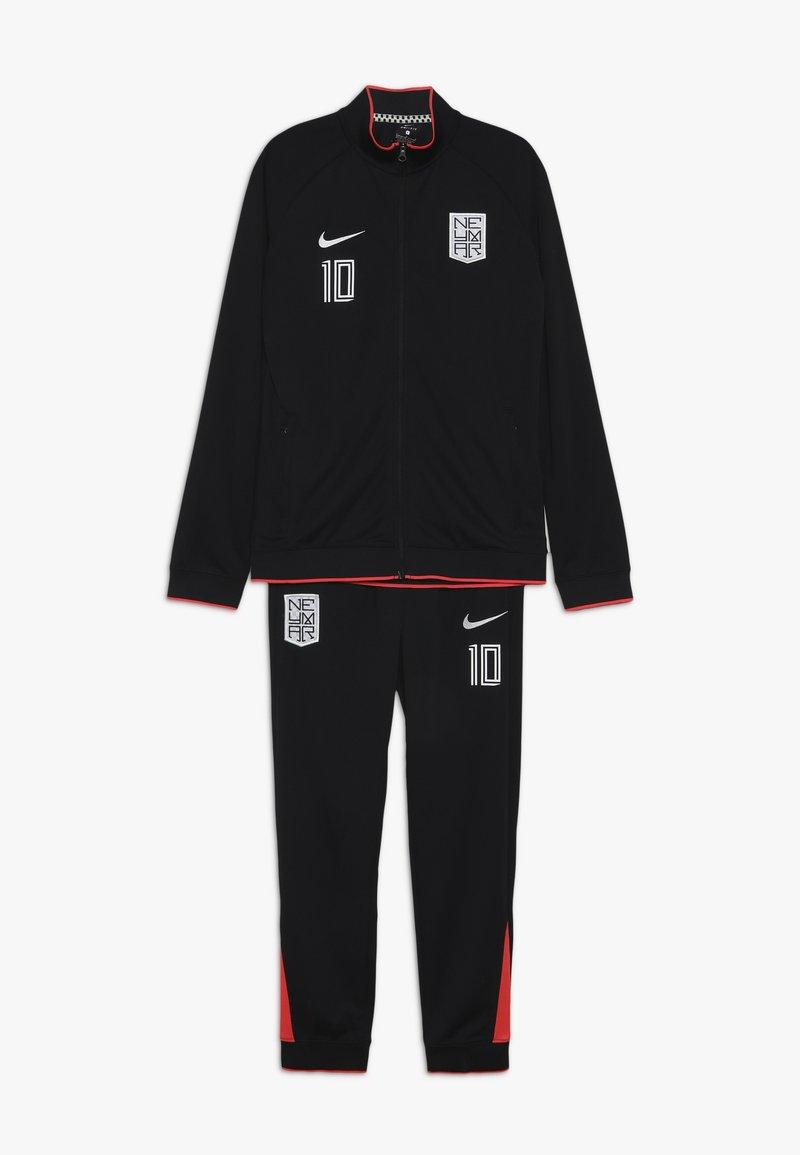 Nike Performance - NEYMAR DRY SUIT SET - Tracksuit - black/laser crimson/white