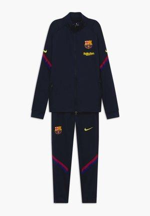 FC BARCELONA DRY SET - Club wear - dark obsidian/deep royal blue/sonic yellow