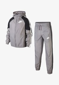 Nike Performance - Træningssæt - grey/black/white - 8