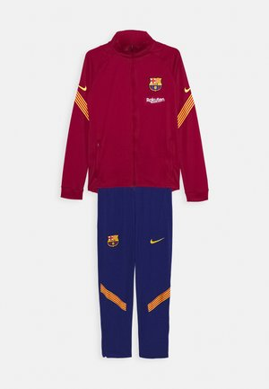 FC BARCELONA DRY SUIT - Chándal - noble red/amarillo