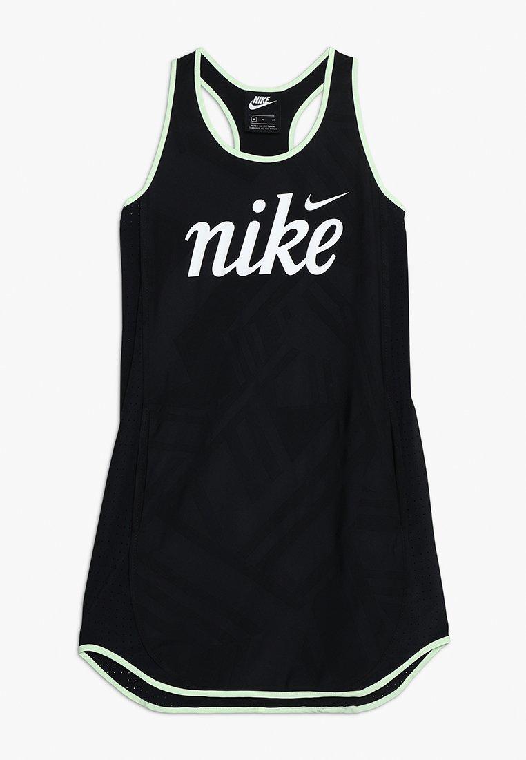 Nike Performance - ICON DRESS TEMPO - Sportkleid - black/white