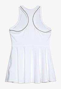 Nike Performance - DRY DRESS - Jerseyjurk - white/black - 1