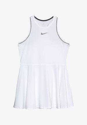 DRY - Sportovní šaty - white/black
