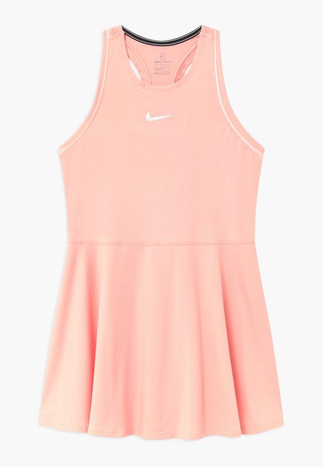 DRY - Sportovní šaty - washed coral/white