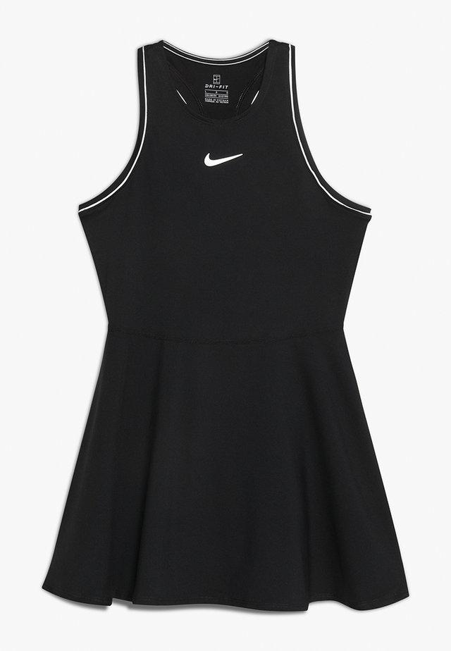 DRY - Sportovní šaty - black/white