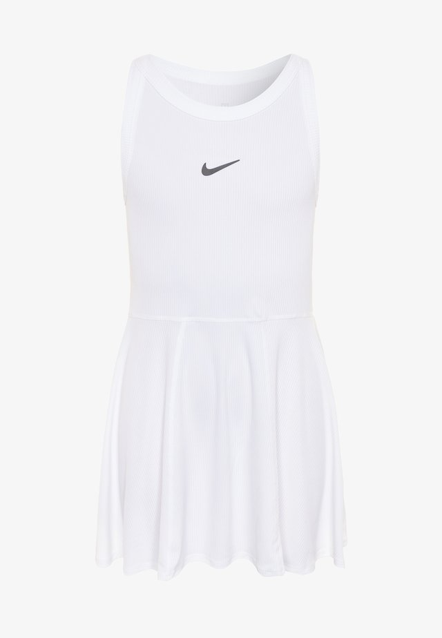 DRY DRESS - Sportskjole - white/black