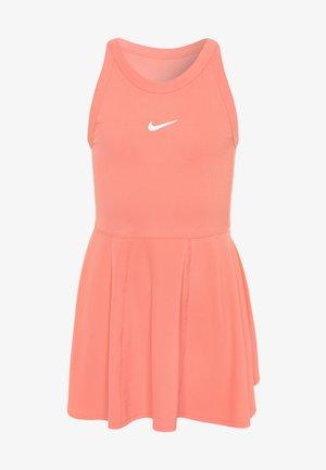 DRY DRESS - Sportovní šaty - sunblush/white