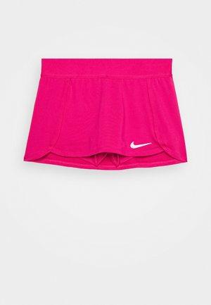 SKIRT - Sports skirt - vivid pink/white