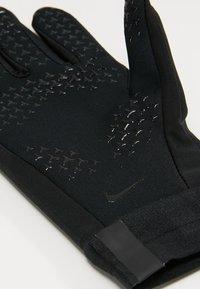 Nike Performance - ACADEMY HYPERWARM - Fingerhandschuh - black - 3