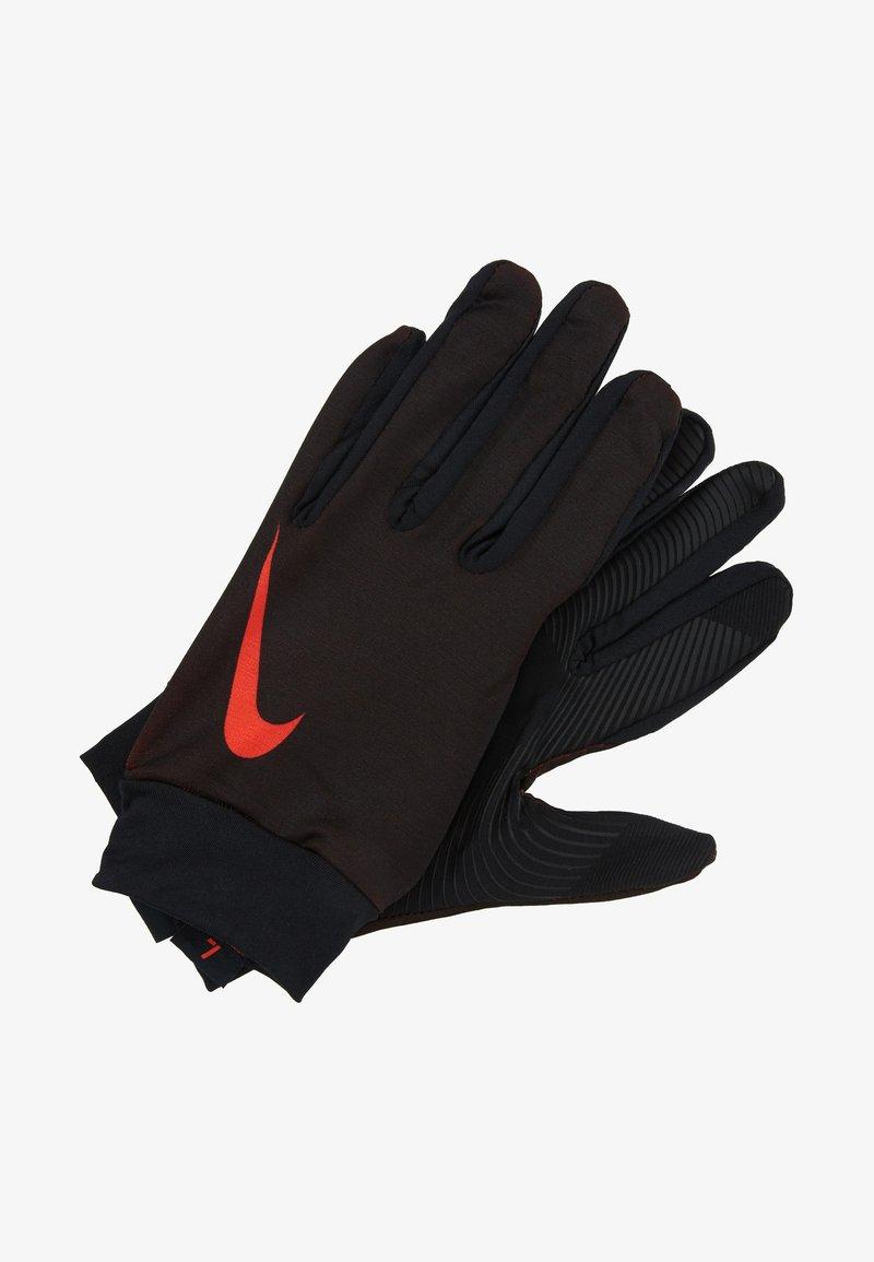 Nike Performance - BASE LAYER - Fingerhandschuh - black/habanero red