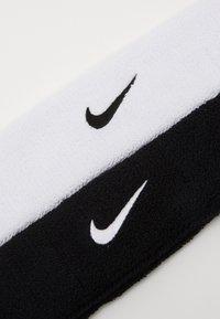 Nike Performance - HEADBAND 2 PACK - Accessoires - Overig - black/white - 2
