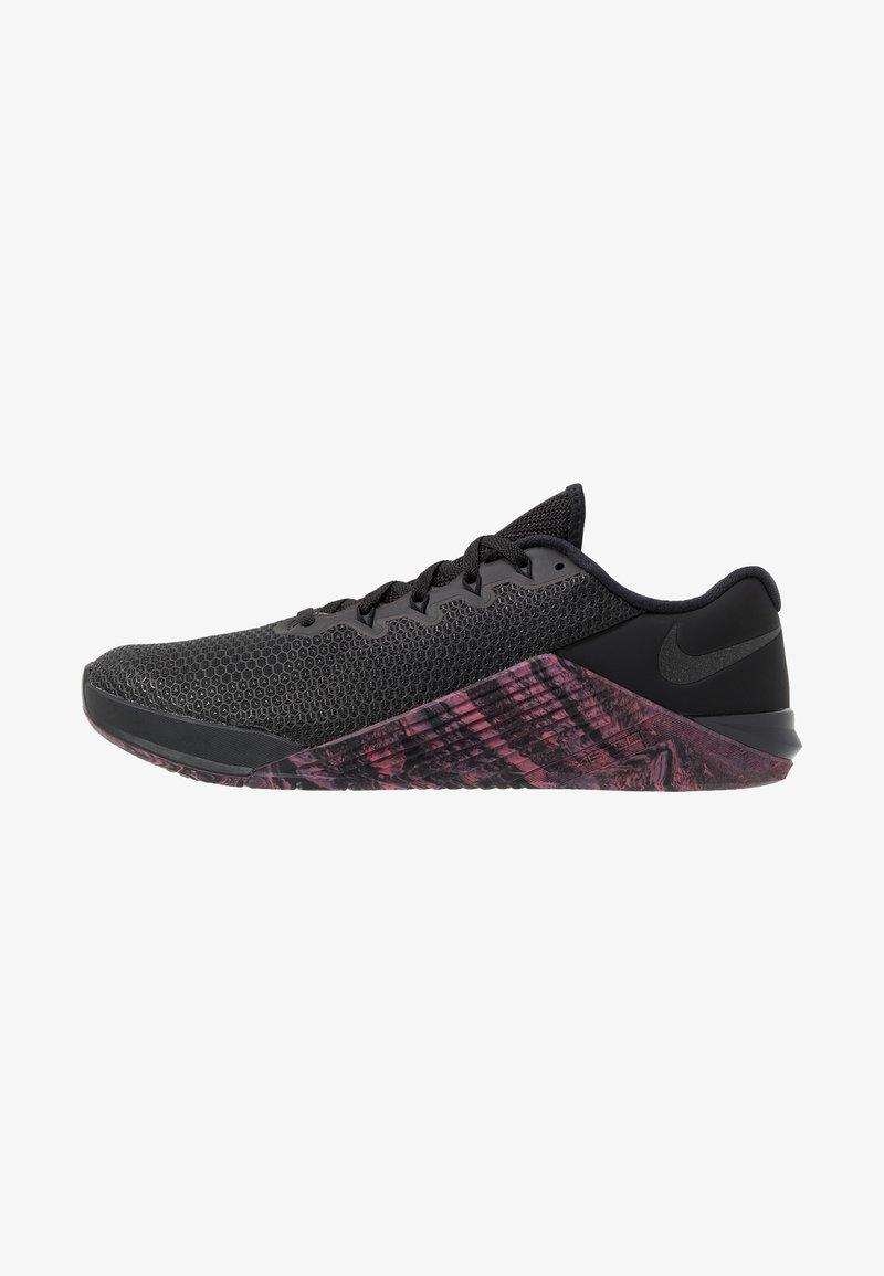 Nike Performance - METCON  - Trainings-/Fitnessschuh - black/oil grey/sunset pulse
