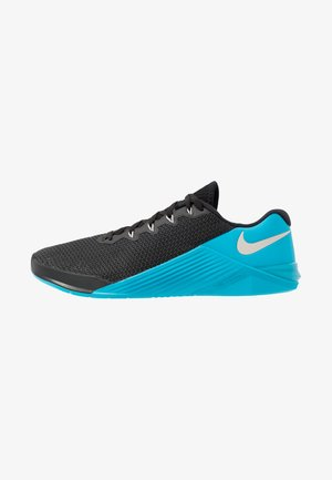 METCON  - Scarpe da fitness - black/desert sand/light current blue