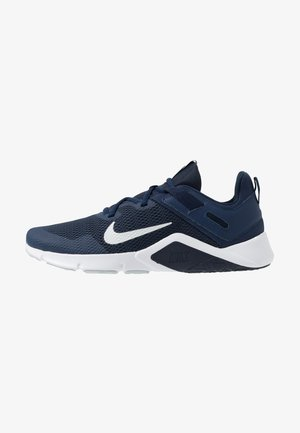 LEGEND ESSENTIAL - Zapatillas de entrenamiento - midnight navy/pure platinum/obsidian