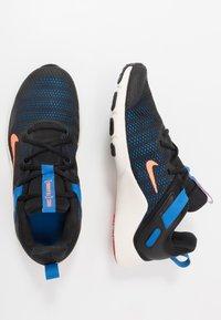 Nike Performance - LEGEND ESSENTIAL - Obuwie treningowe - black/total orange/soar/pale ivory/university red - 1