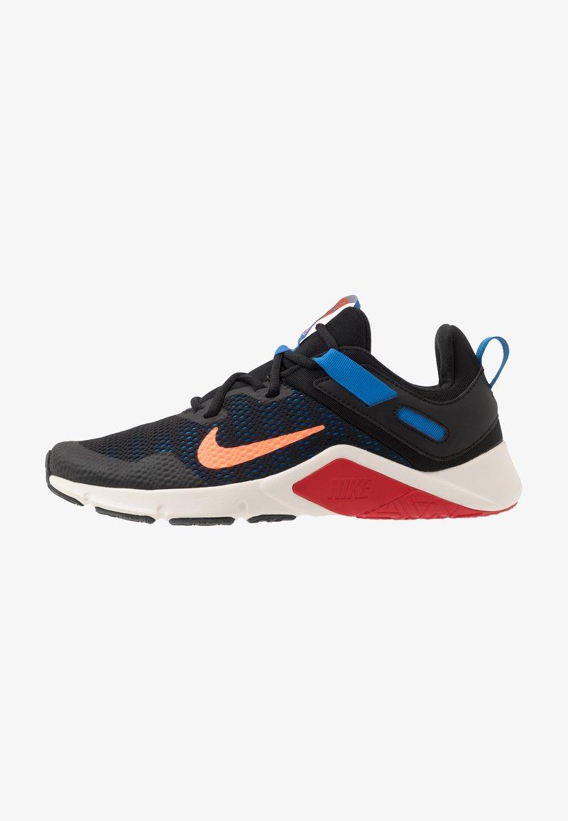 Nike Performance - LEGEND ESSENTIAL - Obuwie treningowe - black/total orange/soar/pale ivory/university red