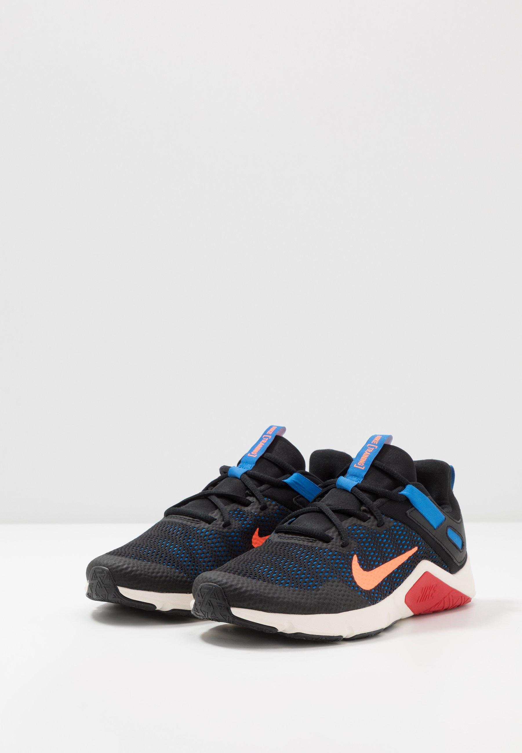 Nike Performance Legend Essential - Chaussures D'entraînement Et De Fitness Black/total Orange/soar/pale Ivory/university Red