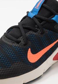 Nike Performance - LEGEND ESSENTIAL - Obuwie treningowe - black/total orange/soar/pale ivory/university red - 5