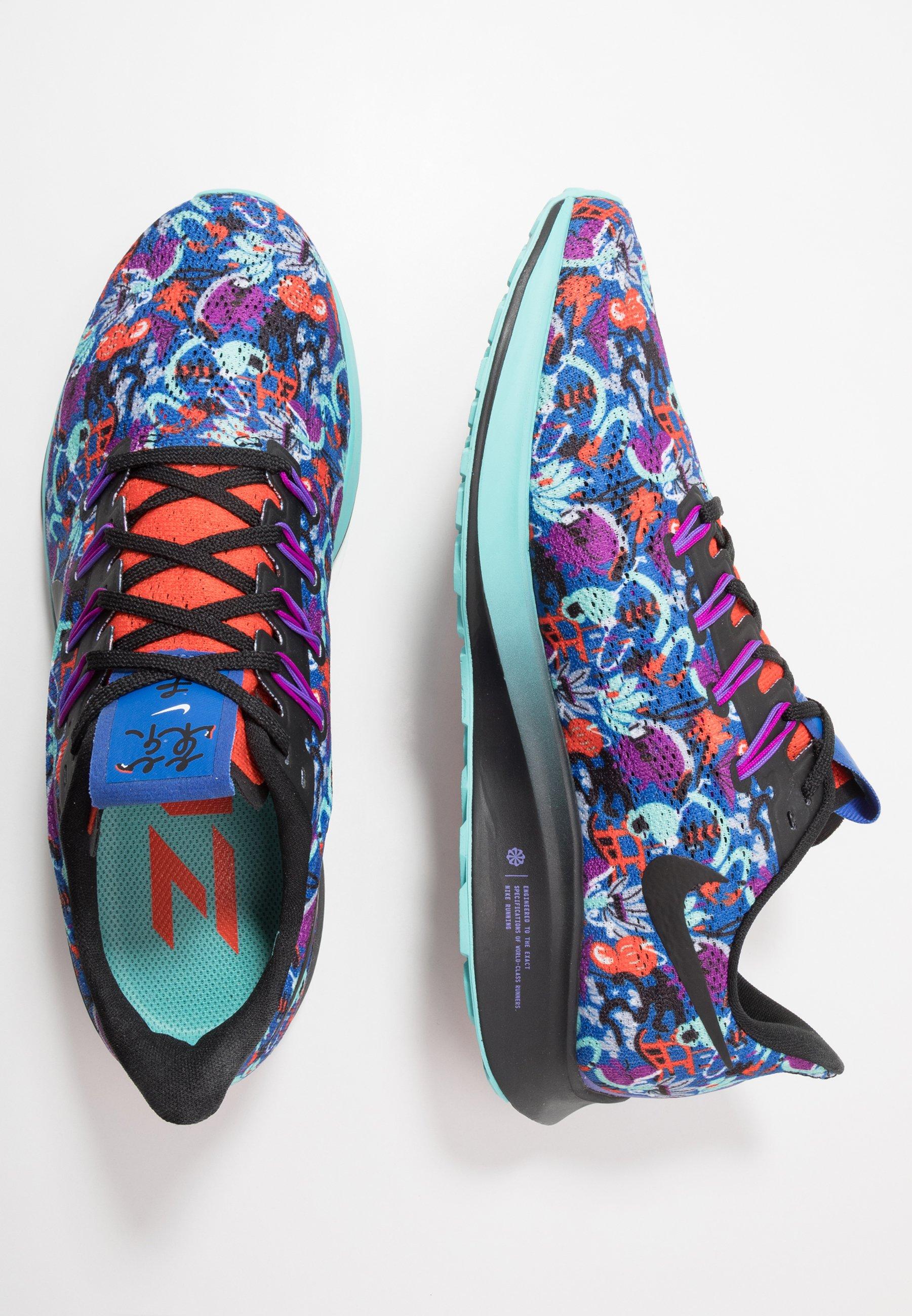 Nike Performance AIR ZOOM PEGASUS 36 AS - Obuwie do biegania treningowe - team orange/black/light aqua/laser blue/psychic purple/wolf grey