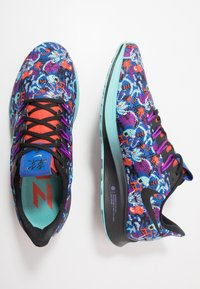 Nike Performance - AIR ZOOM PEGASUS 36 AS - Nøytrale løpesko - team orange/black/light aqua/laser blue/psychic purple/wolf grey - 1