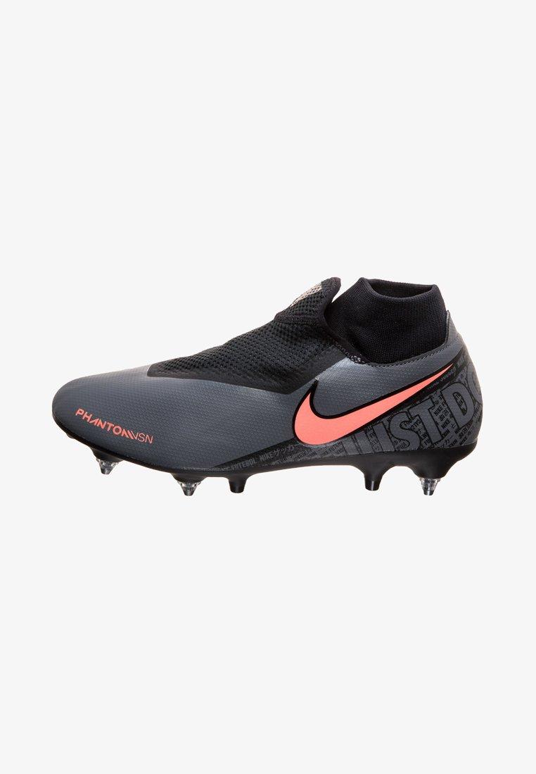 Nike Performance - Botas de fútbol con tacos - dark grey/bright mango/black
