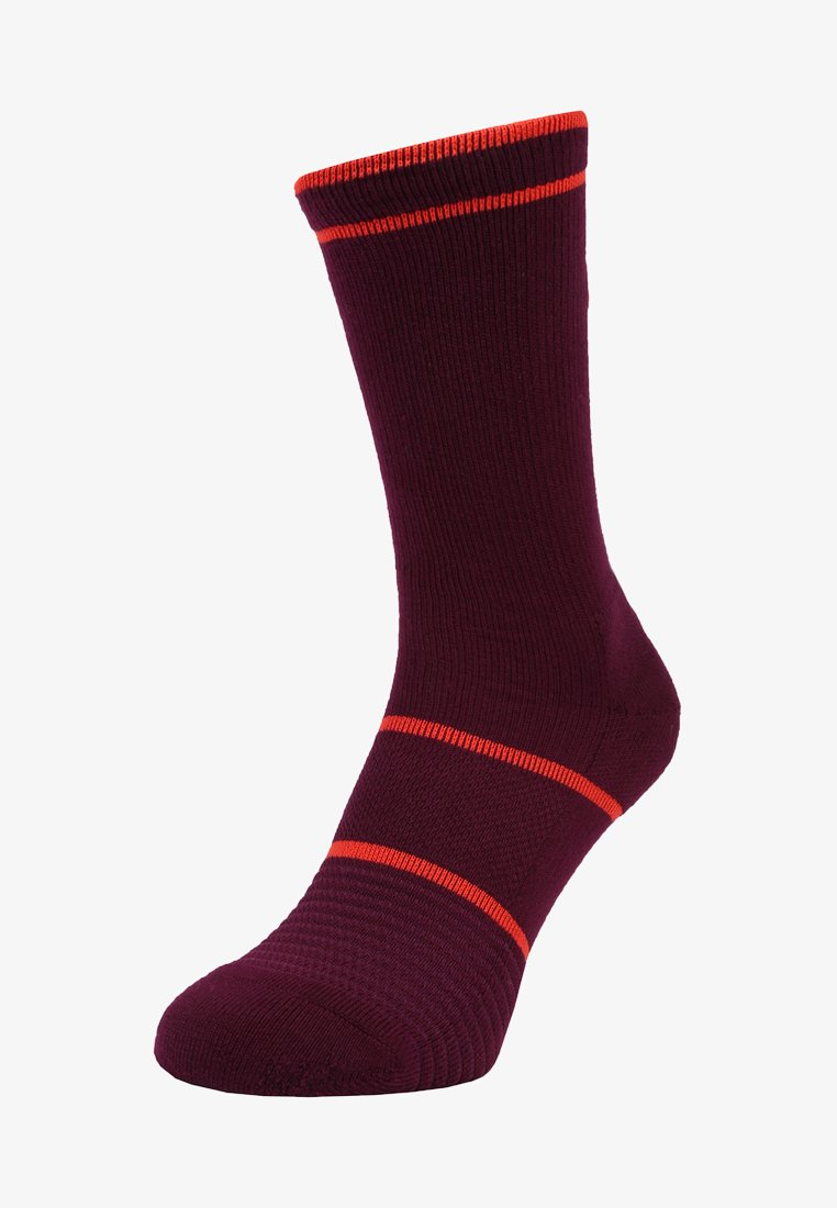 Nike Performance - COURT ESSENTIALS CREW - Calcetines de deporte - bordeaux/habanero red