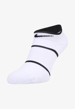 COURT ESSENTIALS - Varrettomat sukat - white/black