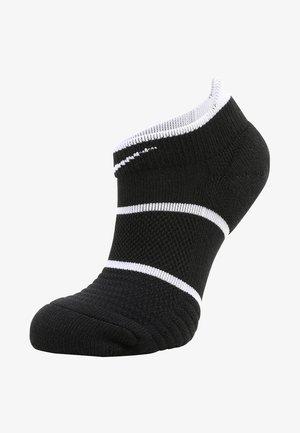 COURT ESSENTIALS - Trainer socks - black/white