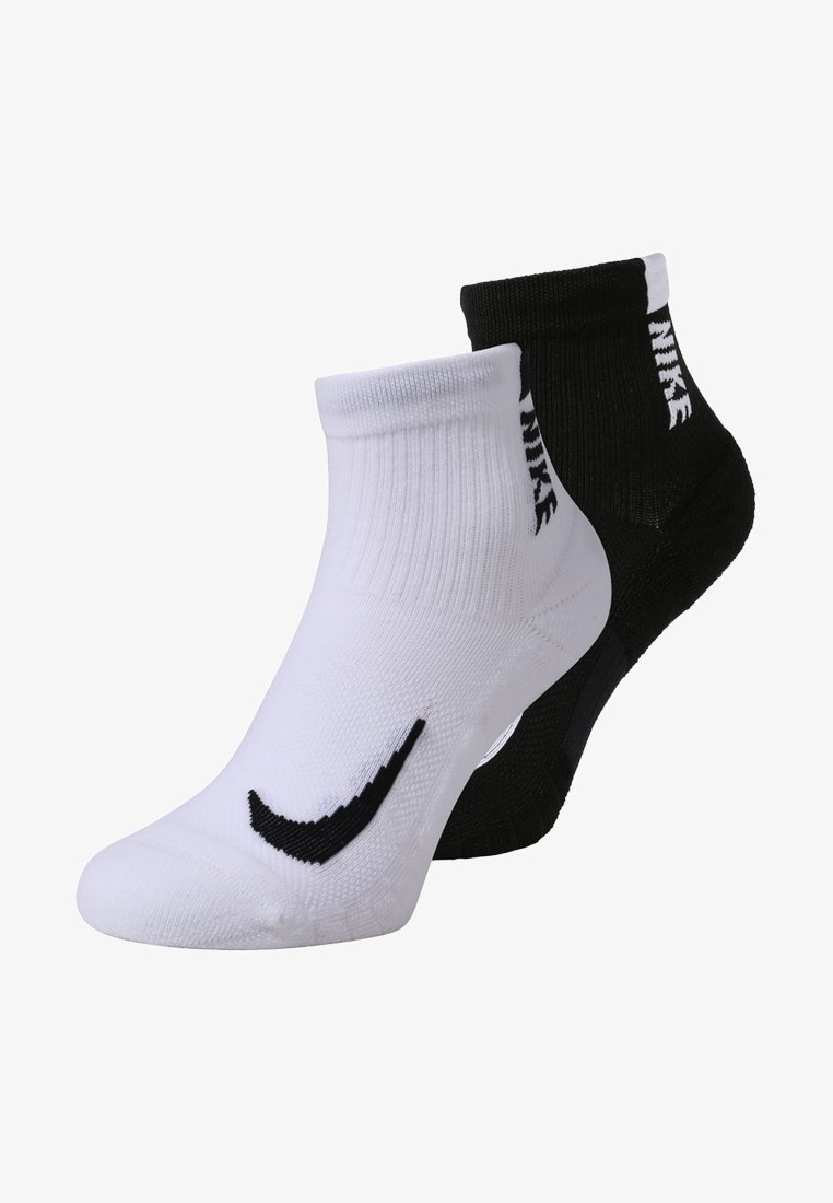 Nike Performance - ANKLE 2 PACK - Sportsocken - white/black