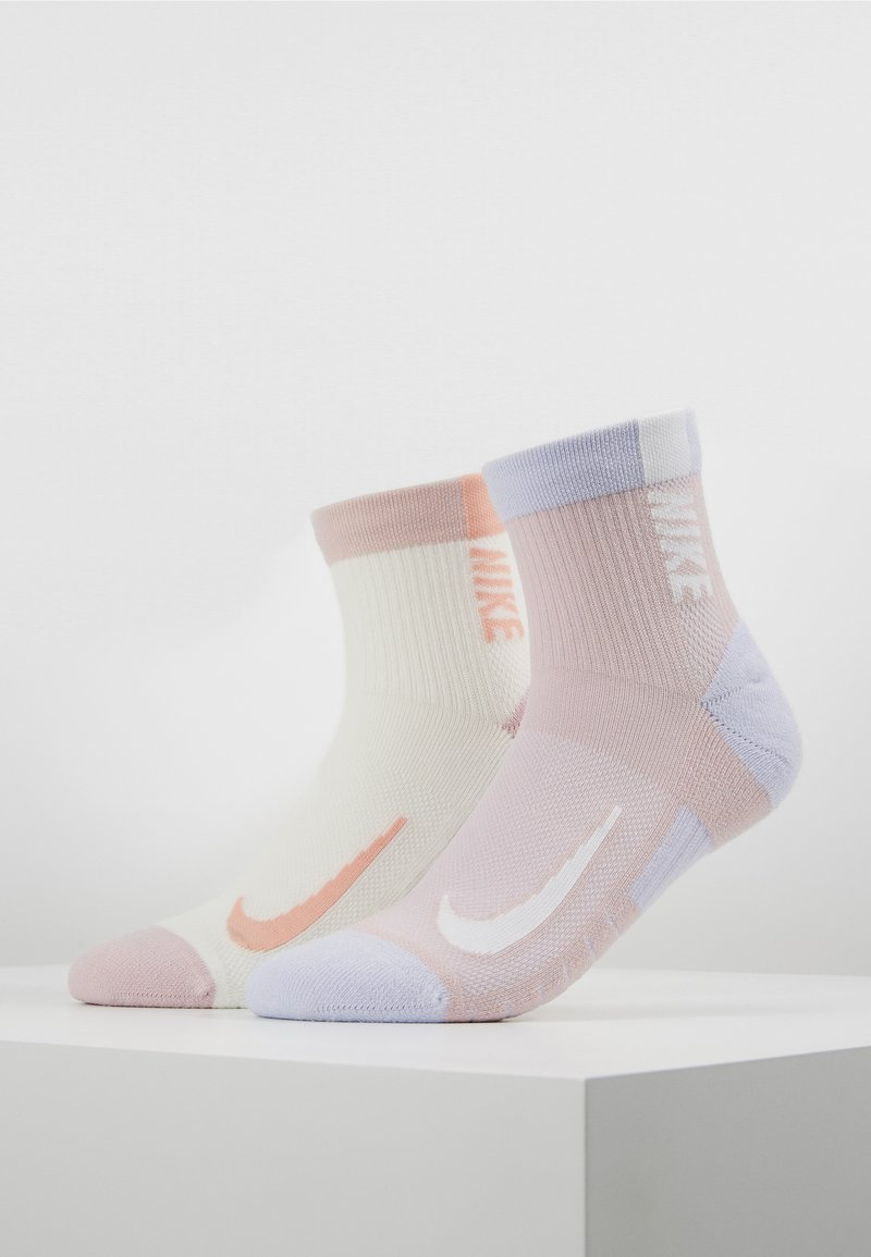 Nike Performance - ANKLE 2 PACK - Calcetines de deporte - nude