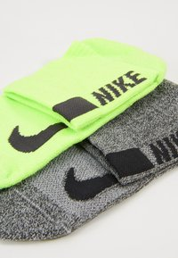 Nike Performance - ANKLE 2 PACK - Calcetines de deporte - multicoloured/neon green - 2