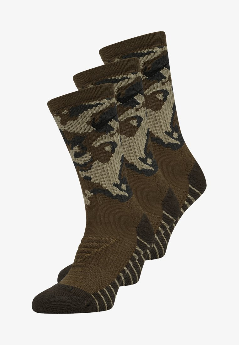 Nike Performance - 3 PACK - Sportsocken - olive/black
