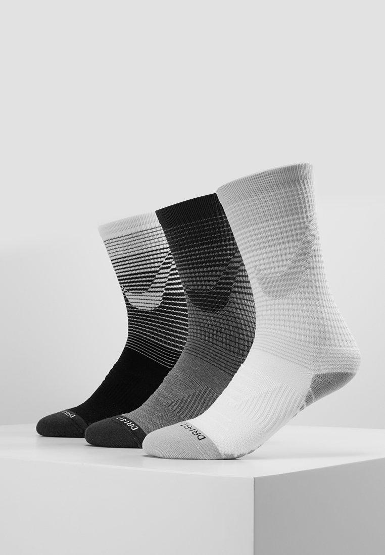 Nike Performance - DRY CUSH CREW 3 PACK - Sports socks - white/grey/black