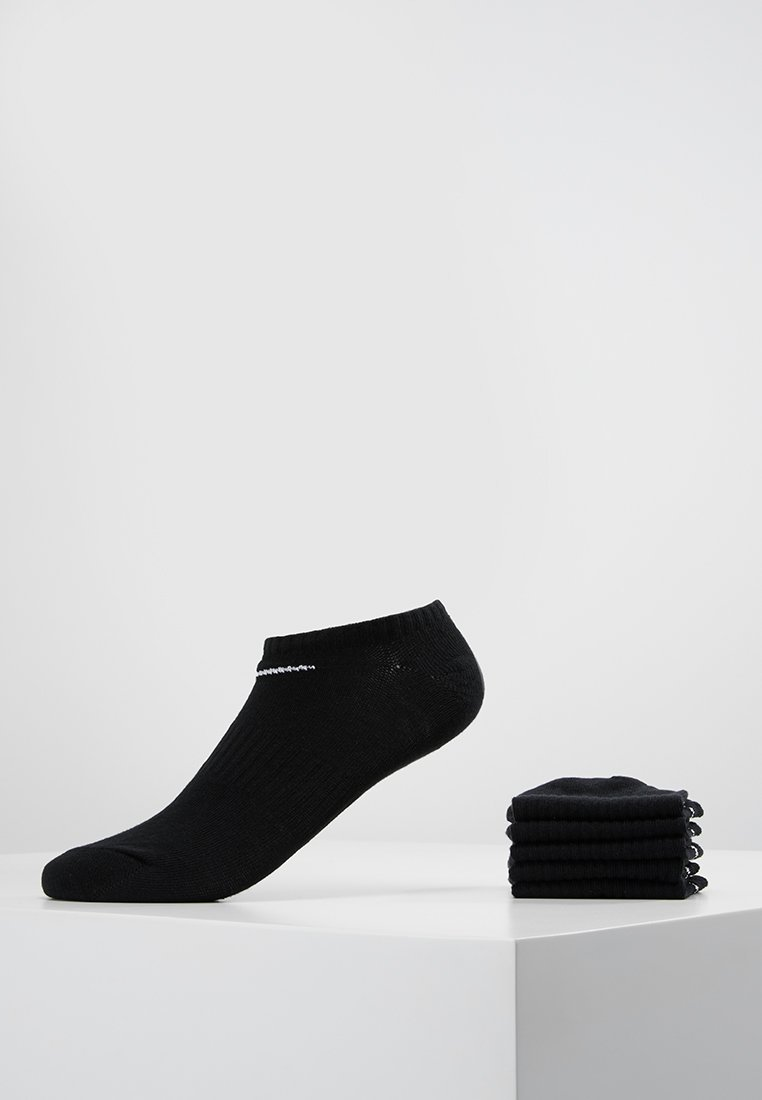 Nike Performance - EVERYDAY LIGHTWEIGHT 6 PACK - Socquettes - black/white