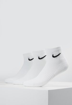 EVERYDAY CUSH 3 PACK - Sports socks - white/black