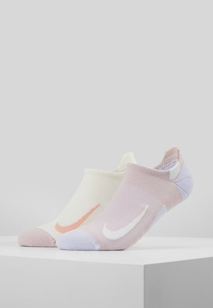 2 PACK - Trainer socks - nude