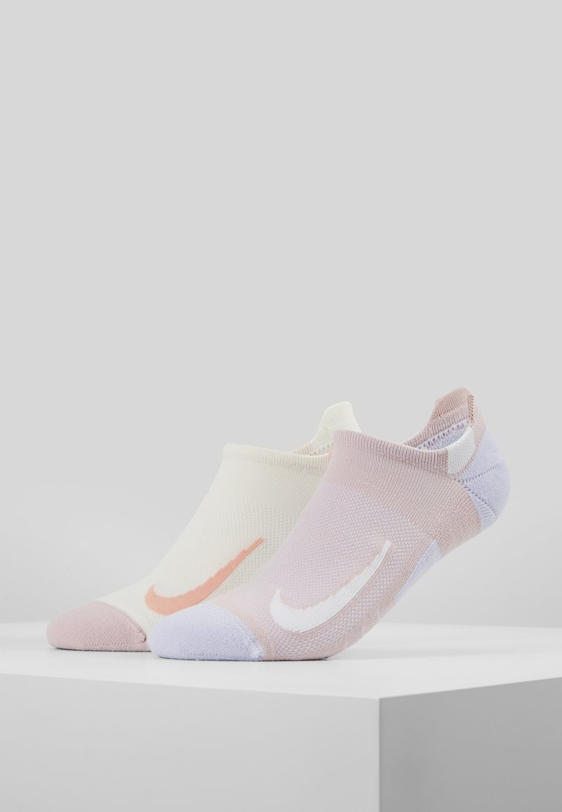 Nike Performance - 2 PACK - Sportovní ponožky - nude
