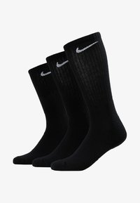 Nike Performance - EVERYDAY CUSH CREW 3 PACK - Calcetines de deporte - black/white - 1