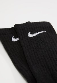 Nike Performance - EVERYDAY CUSH CREW 6 PACK - Urheilusukat - black/white - 2