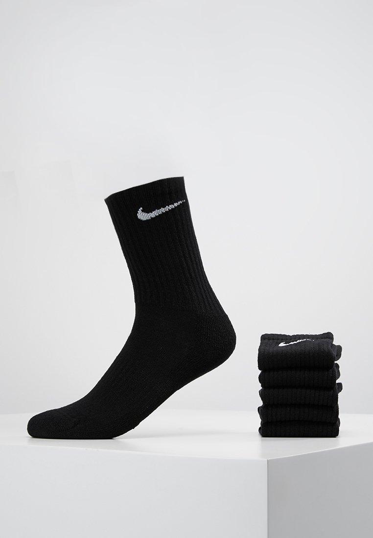 Nike Performance - EVERYDAY CUSH CREW 6 PACK - Sportovní ponožky - black/white