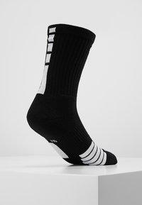 Nike Performance - ELITE CREW - Calze sportive - black/white/white - 3